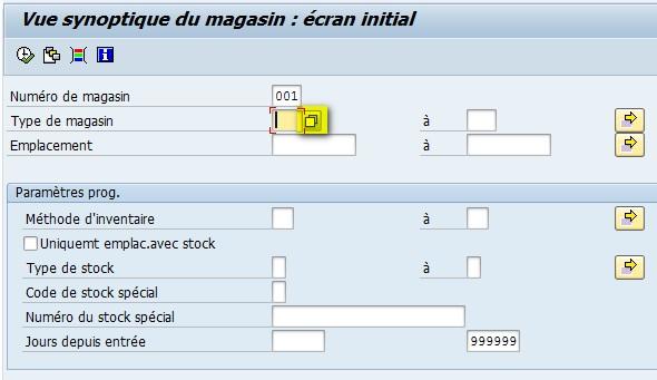 Match code SAP LX03