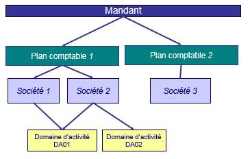 SAP Module FI structure organisationnelle