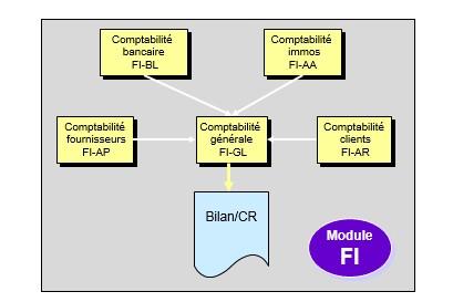 SAP FI intégration module