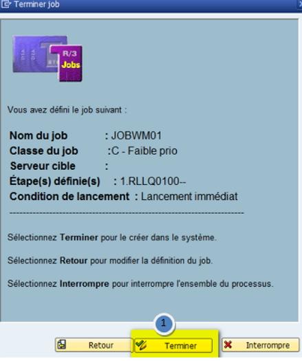 SAP job