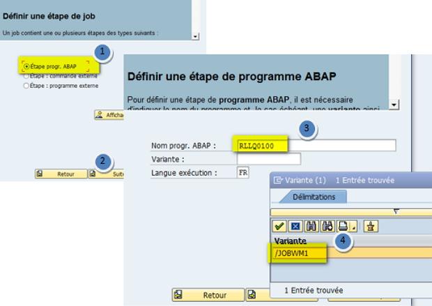 SAP SM36 JOB