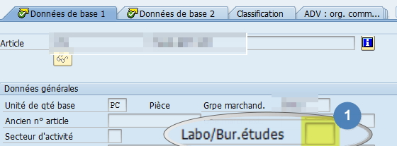 SAP Transaction MM03