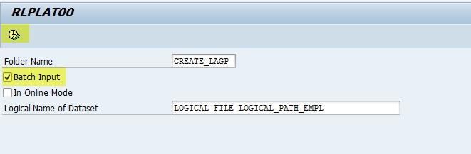 création batch input emplacements WM