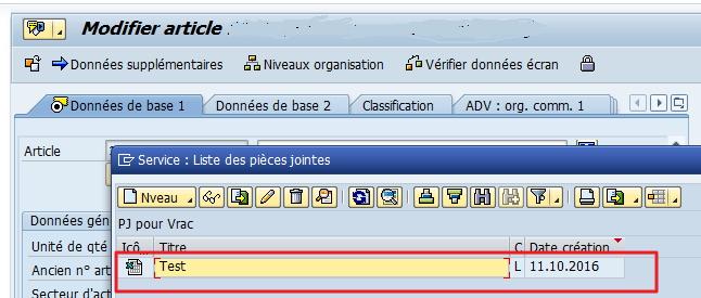 SAP GOS