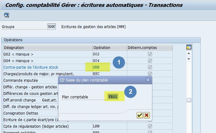 Comment affecter un compte à une classe de valorisation dans SAP ?