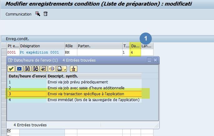 Impression à la demande SAP