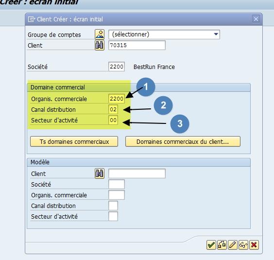 SAP Tutoriel fiche client