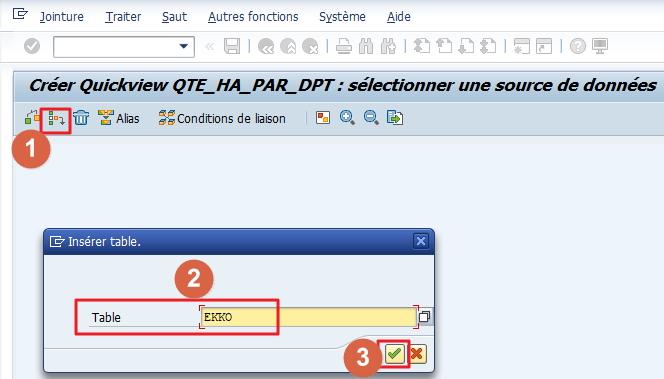 Créer une requête simple avec SQVI dans SAP - SAPandCO
