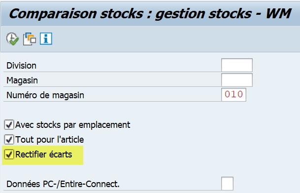 LX23 rectifier stock sap WM et MM